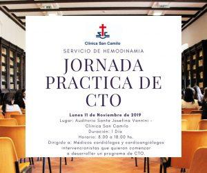 Flyer de la Jornada Práctica de CTO
